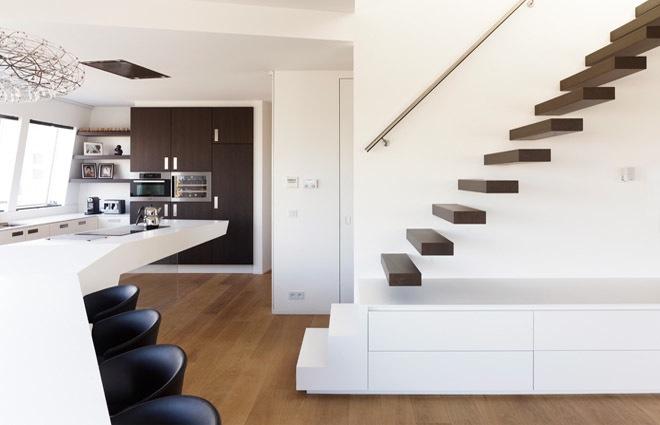 Design Penthouse inrichting in Antwerpen - ELFT Interieur