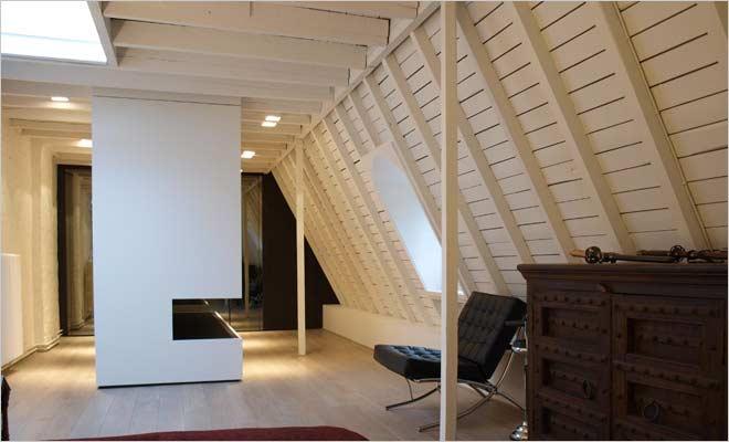Klassieke villa inrichting met klassiek interieur - Houten chalet interieur ...