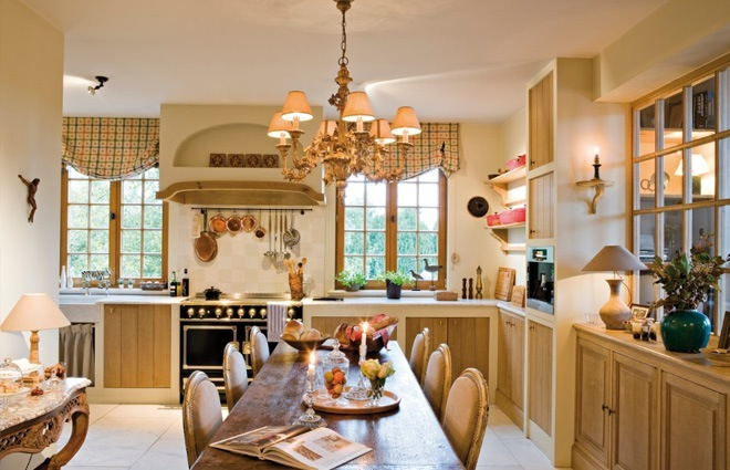 Landhuis in engelse stijl inrichting door lef vre interiors - Interieur decoratie van huizen ...