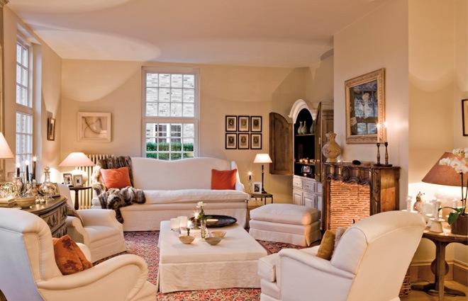 Landhuis in Engelse stijl - inrichting door Lefu00e8vre Interiors