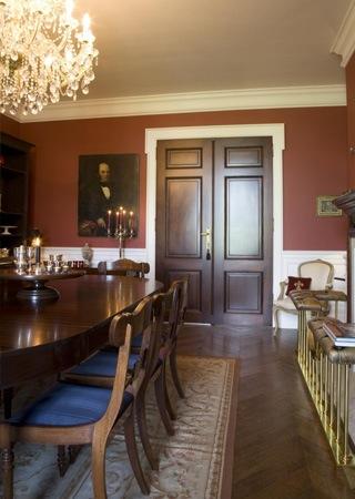 Eetkamer Inrichting : Landhuis in engelse stijl inrichting door ...