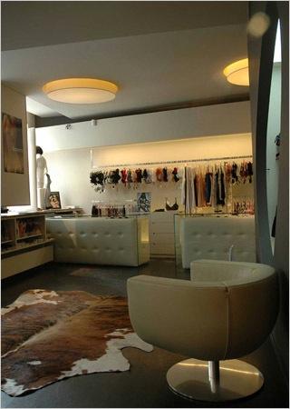 Lingeriewinkel inrichting - interieur door ontwerpbureau Lineos