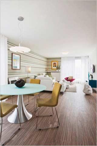 Moderne woonkamer met eetplaats motorcycle review and galleries - Woonkamer design bibliotheek ...