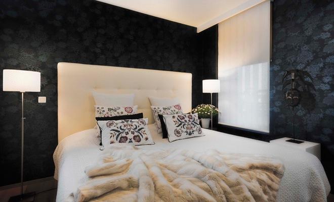 Deco eigentijdse slaapkamer trendy slaapkamer kleuren trendy