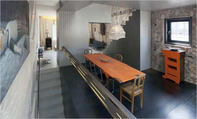Oude Keuken Renoveren : Moderne rijwoning renovatie: De Zwarte Parel
