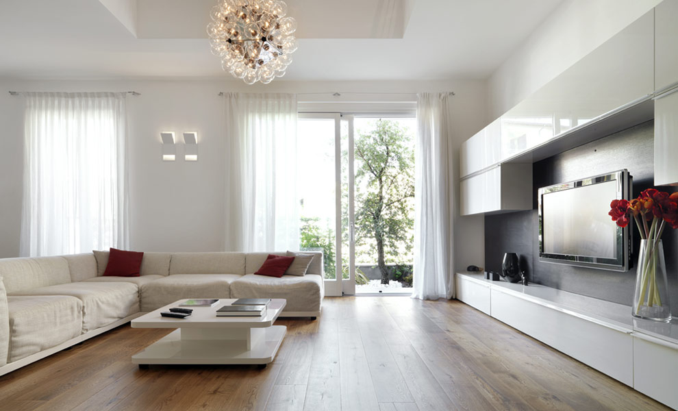 Interieur white woonkamer