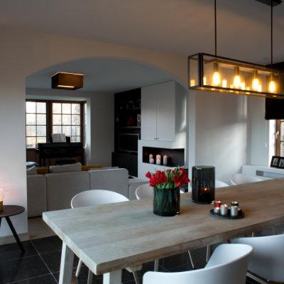 Landelijke woning met strak interieur binnenkijken for Landelijk strak wonen
