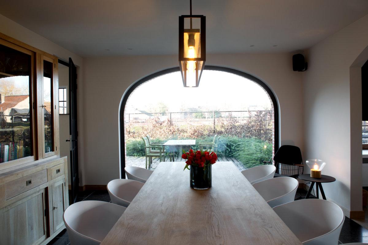 Landelijke woning met strak interieur binnenkijken for Landelijke woning