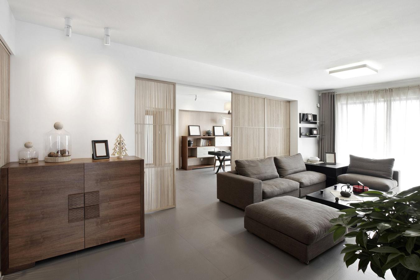 Welke vloeren zijn geschikt voor vloerverwarming overzicht Grijze woonkamer