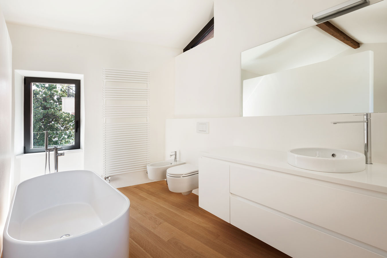 Badkamer inrichten inspiratie foto 39 s originele idee n - Kleur idee ruimte zen bad ...
