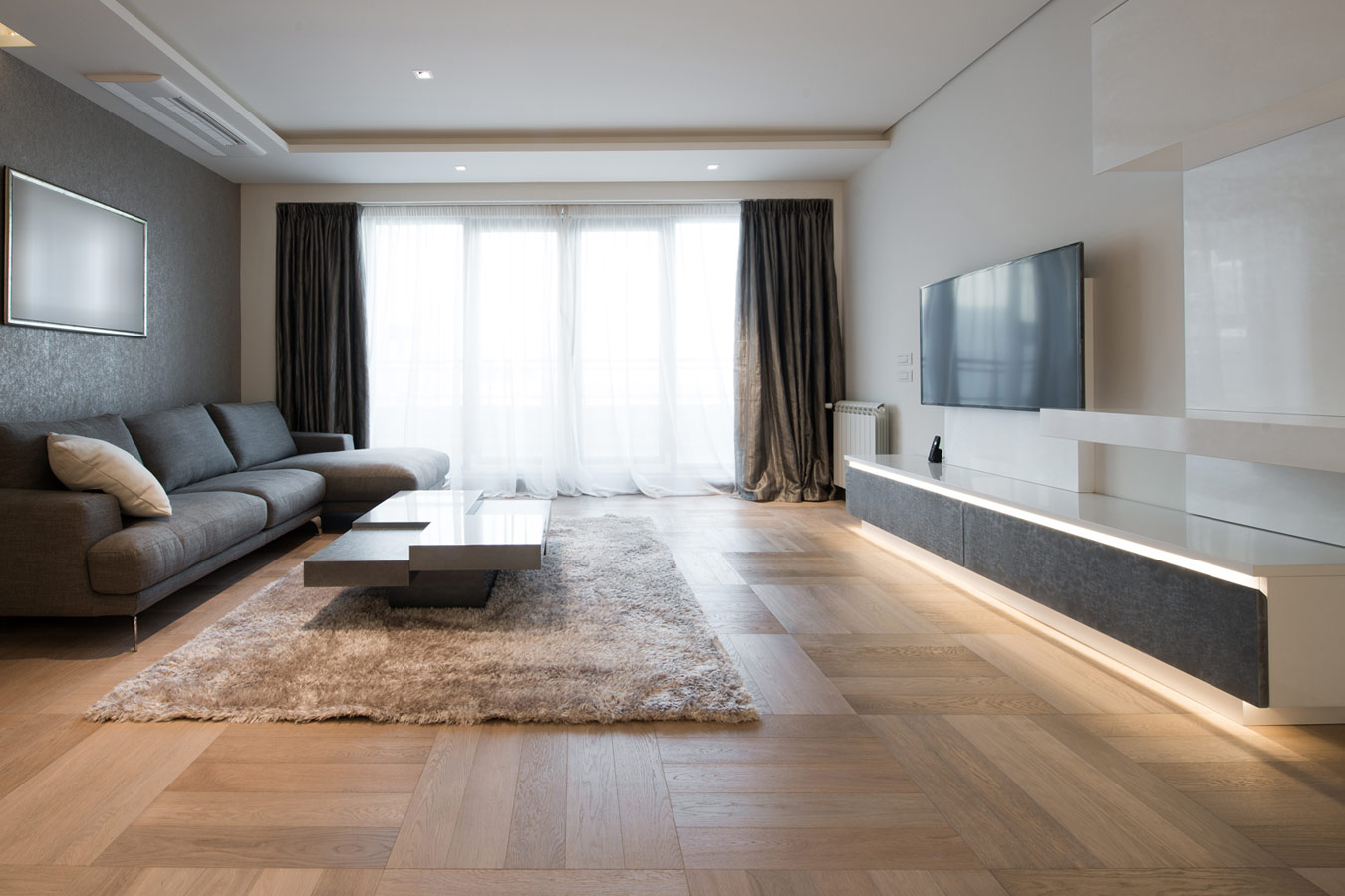 Muur ontwerp slaapkamers - Interieur modern design ...