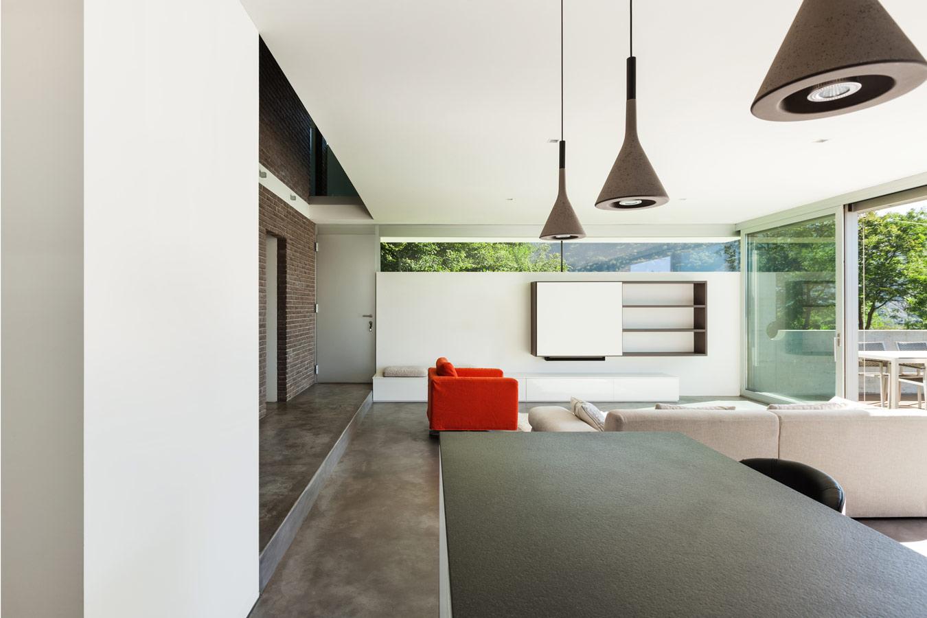 Ideeën voor een moderne woonkamer inspiratie