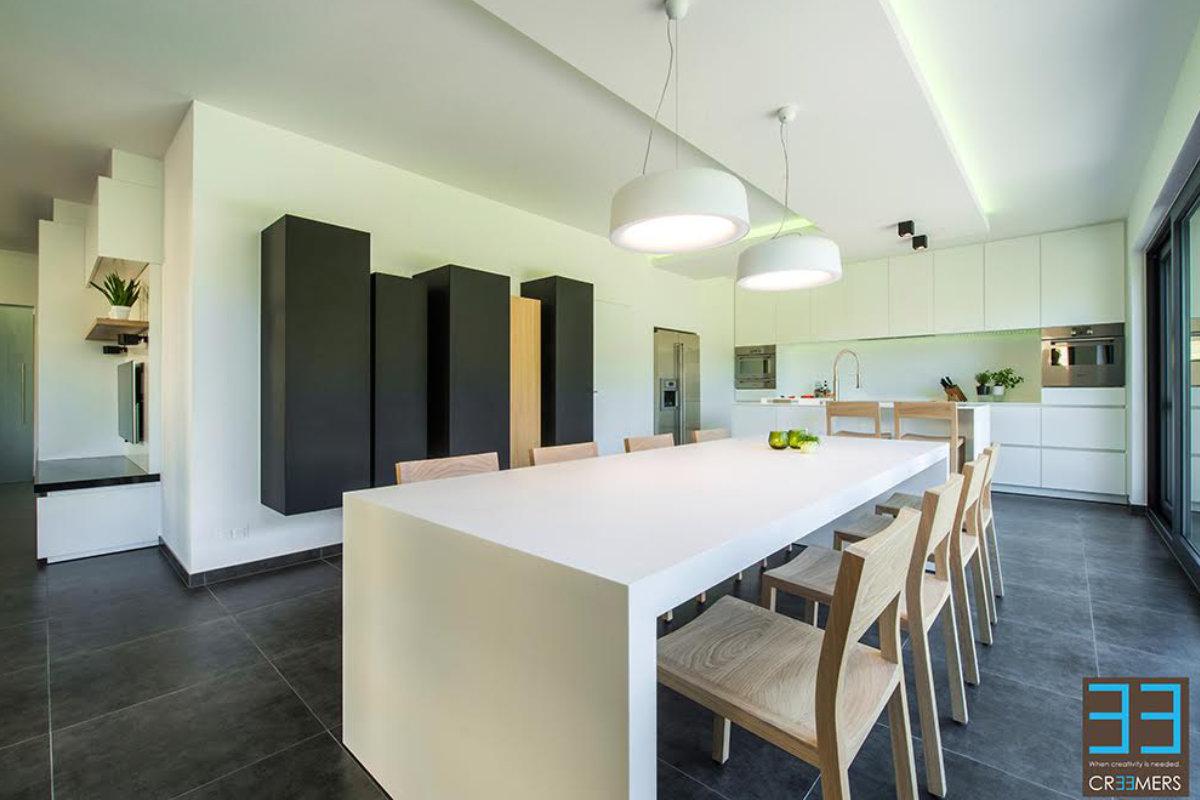 Renovatie van keuken en eetkamer zonder breekwerk | Binnenkijken