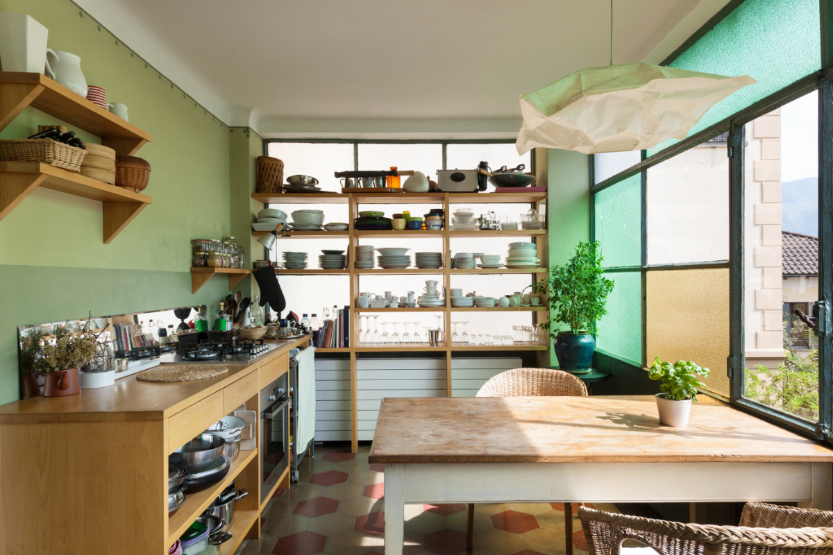 Goedkope keukens tips en inspiratie interieurdesigner - Keuken open of gesloten ...