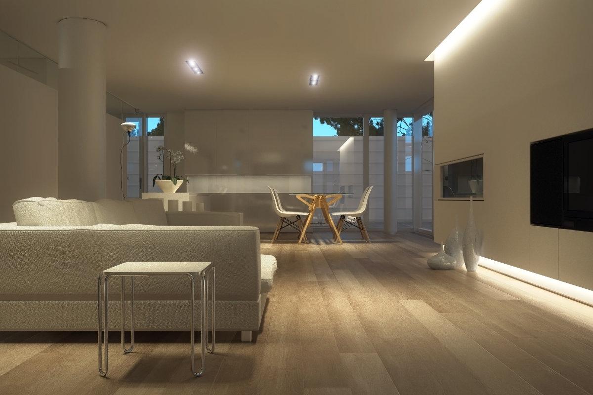 indirecte led verlichting plafond vloer