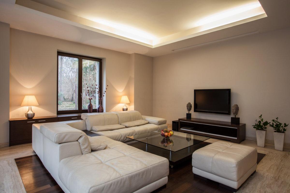 Bedwelming Indirecte verlichting in huis: toepassingen en uitvoeringen #XZ66