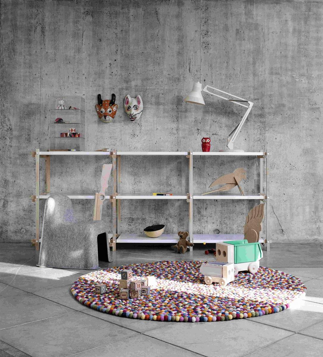 Kinderkamer idee vloerkleed - Tapijt voor volwassen kamer ...