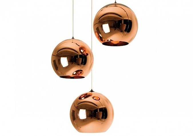 copper shade hanglamp tom dixon inspiratie en prijzen. Black Bedroom Furniture Sets. Home Design Ideas