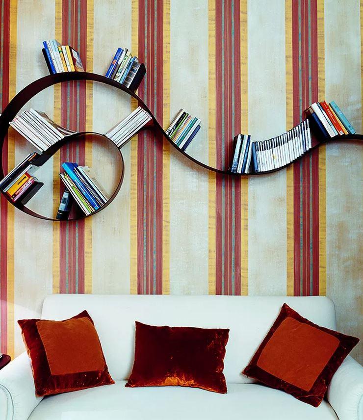 Kartell Boekenplank Bookworm Design Boekenrek Voor De Muur
