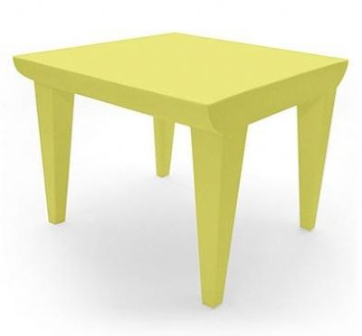 kartell buble club tafel geel
