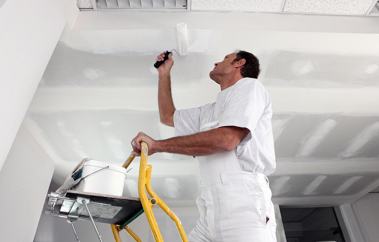 Badkamer Plafond Latex : Hoe plafond schilderen stappenplan praktische tips