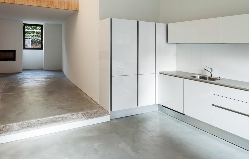 Keuken Gepolierde Beton