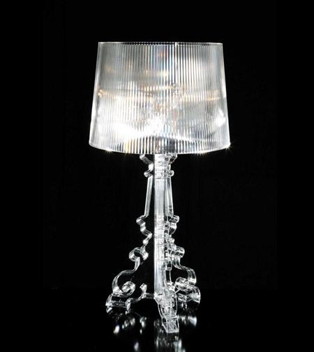 bourgie tafellamp van kartell stijlvolle verlichting in barok stijl. Black Bedroom Furniture Sets. Home Design Ideas