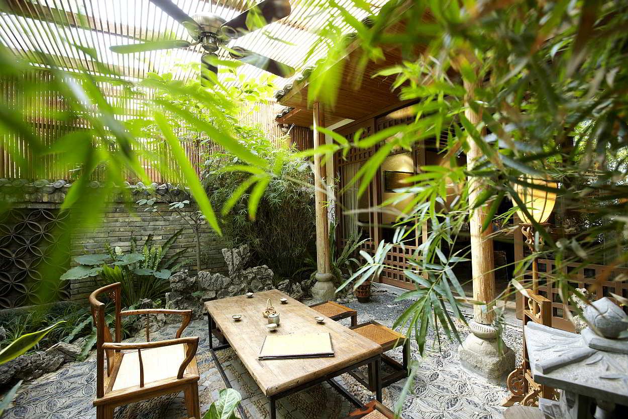 Een japans interieur tips en inspiratie - Decoratie van een terras ...