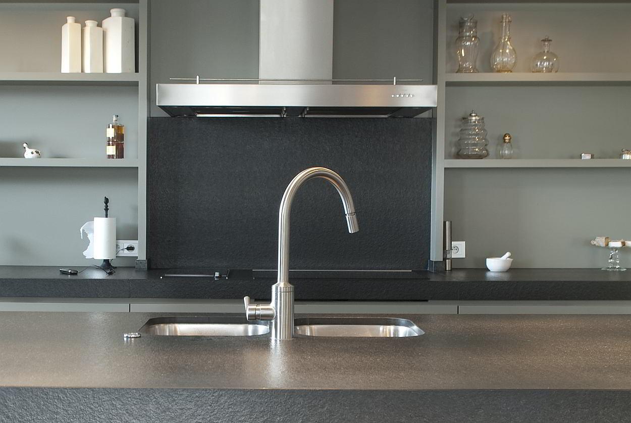 Keuken Ergonomie Afmetingen : Een inox spoelbak in de keuken: Voorbeelden en Info