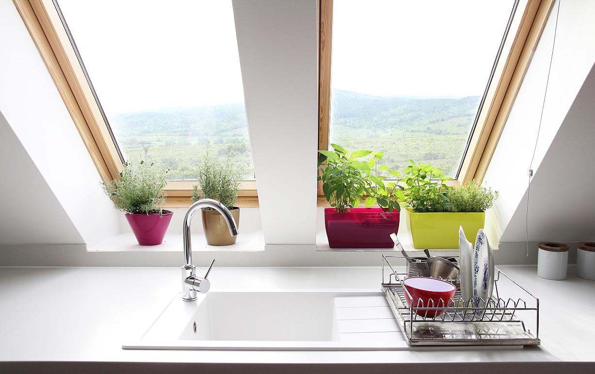 Keramische spoelbak in de keuken: voordelen en inspiratie