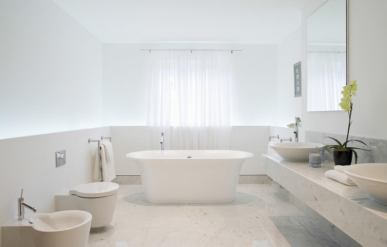 Douche Afvoer Renovatie ~ marmeren tegels in de badkamer