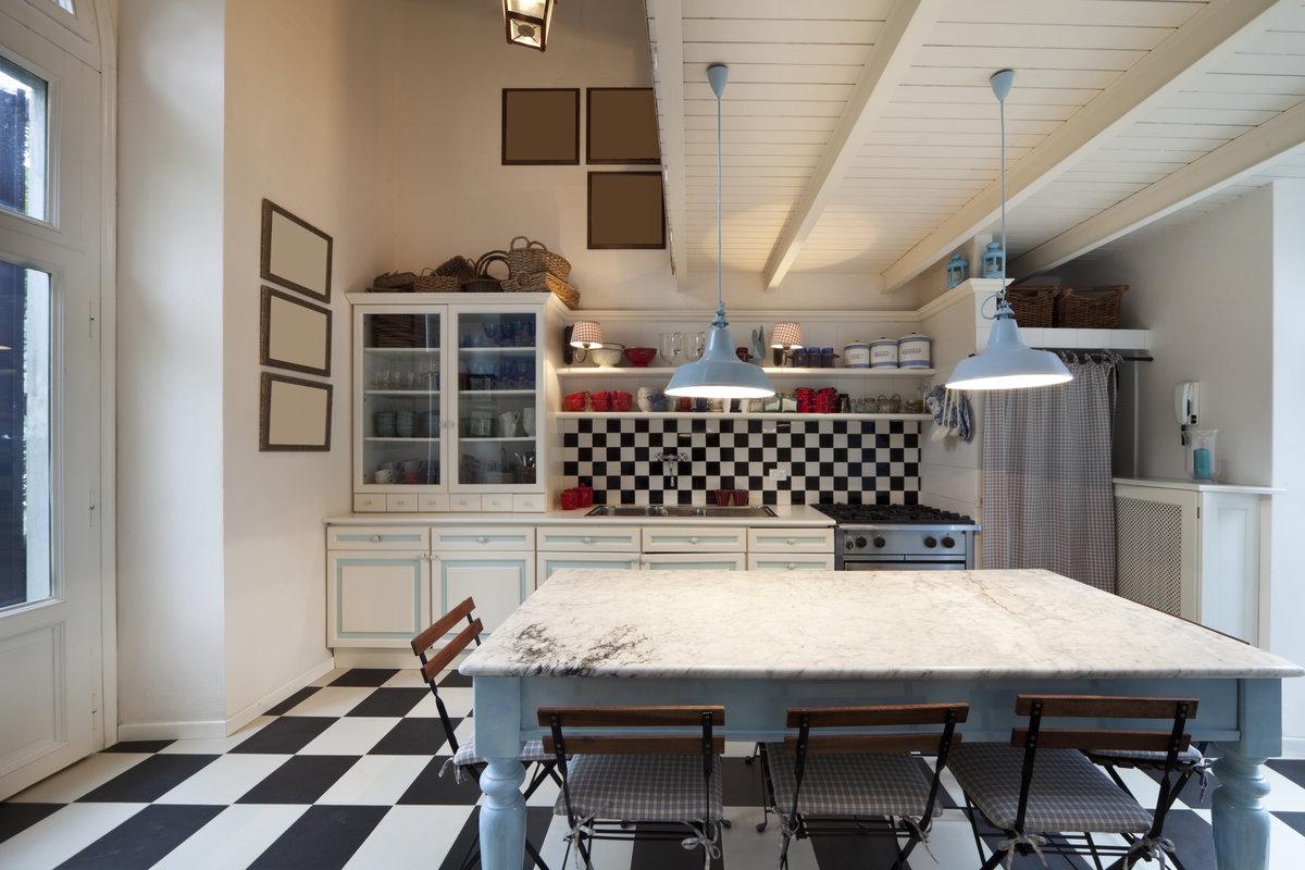 Interieur Idee Keuken : Interieur woonkamer zwart wit. Interieur ...