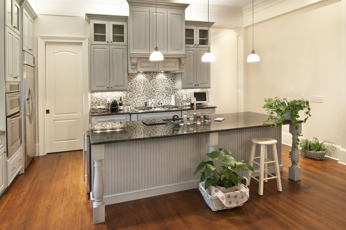 Grijze Keuken Landelijk : keuken strakke luxe keuken met grijze ...