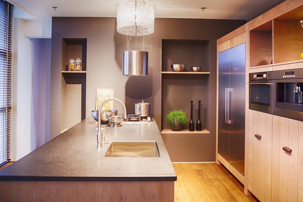 Landelijke keukens fotospecial 20 inspirerende keukens - Kleine amerikaanse keuken ...