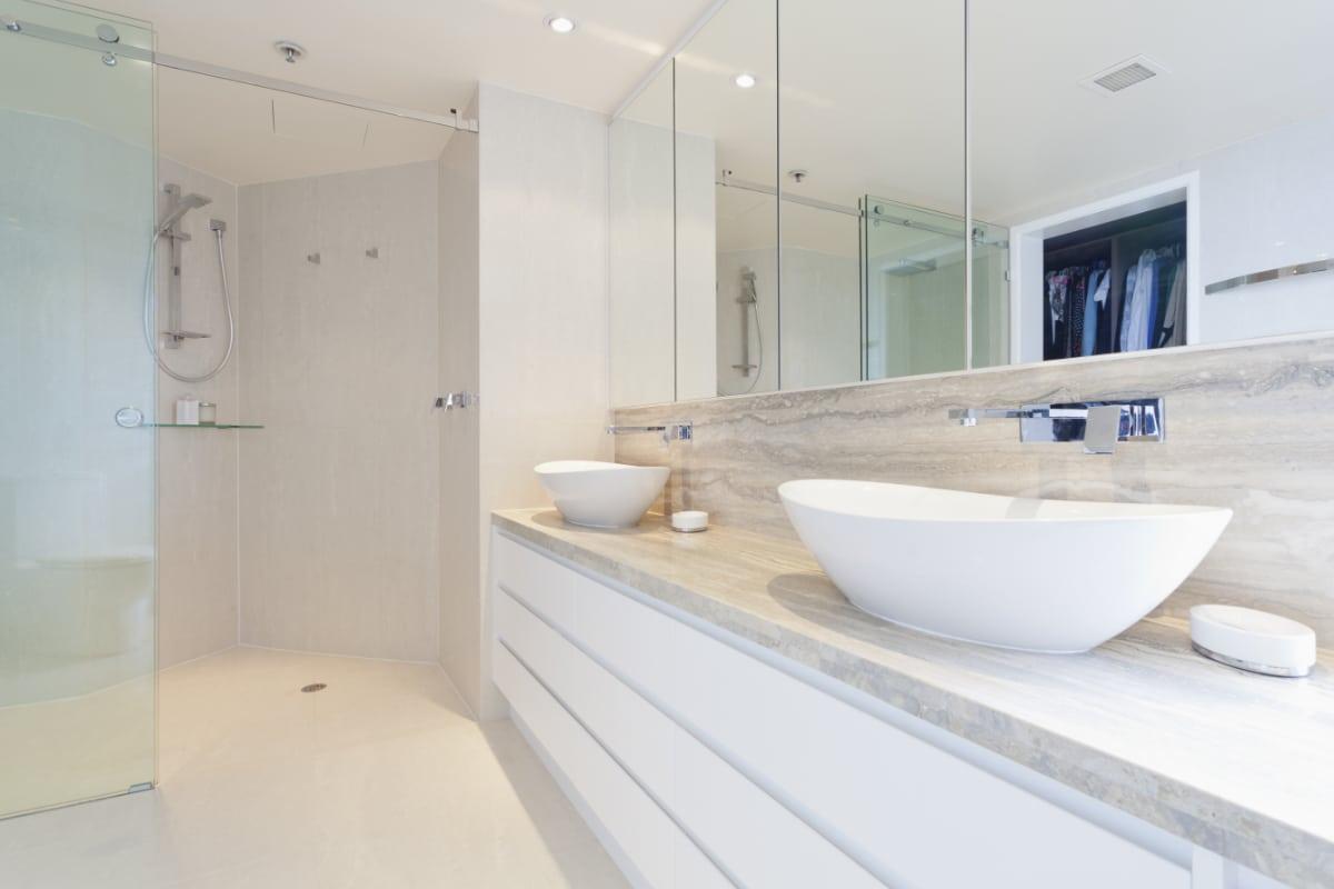 inrichten design badkamer