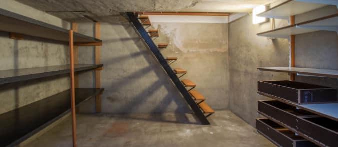 kelder isoleren plafond