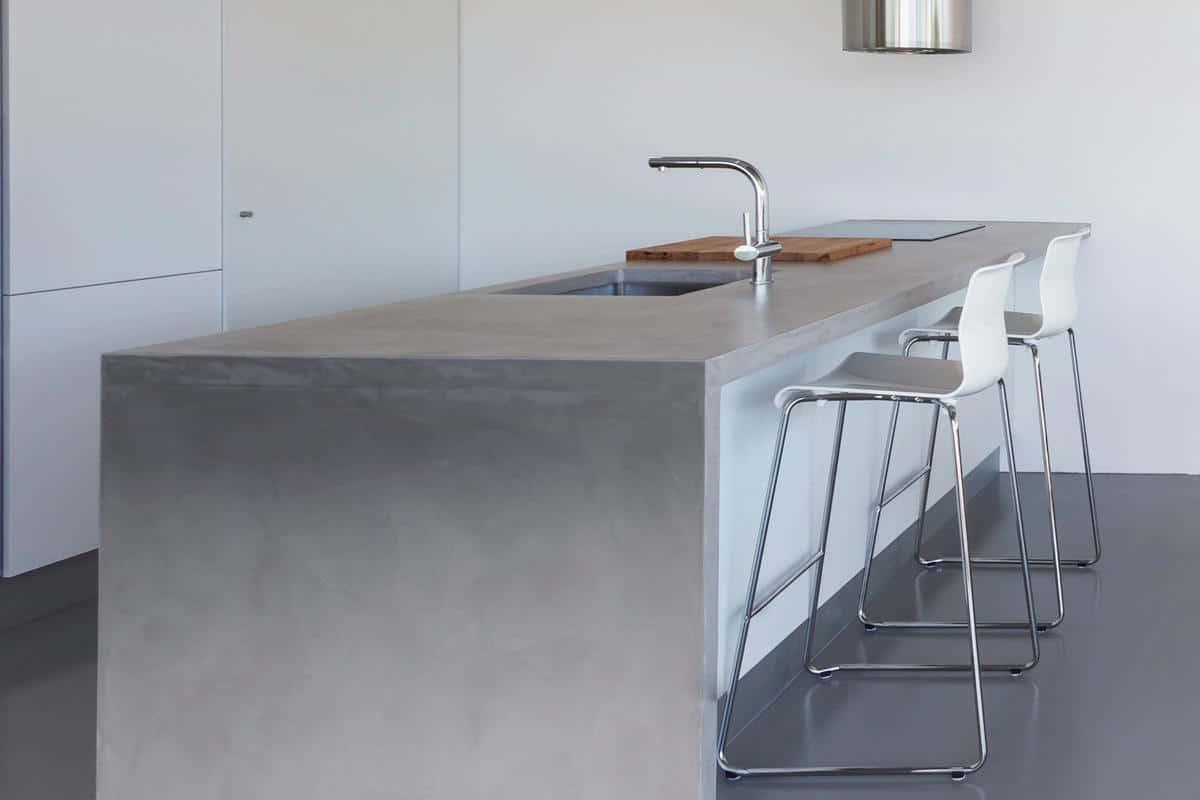 keukenwerkblad beton