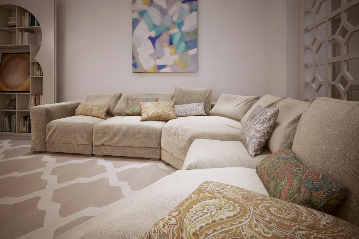 Modern marokaans interieur