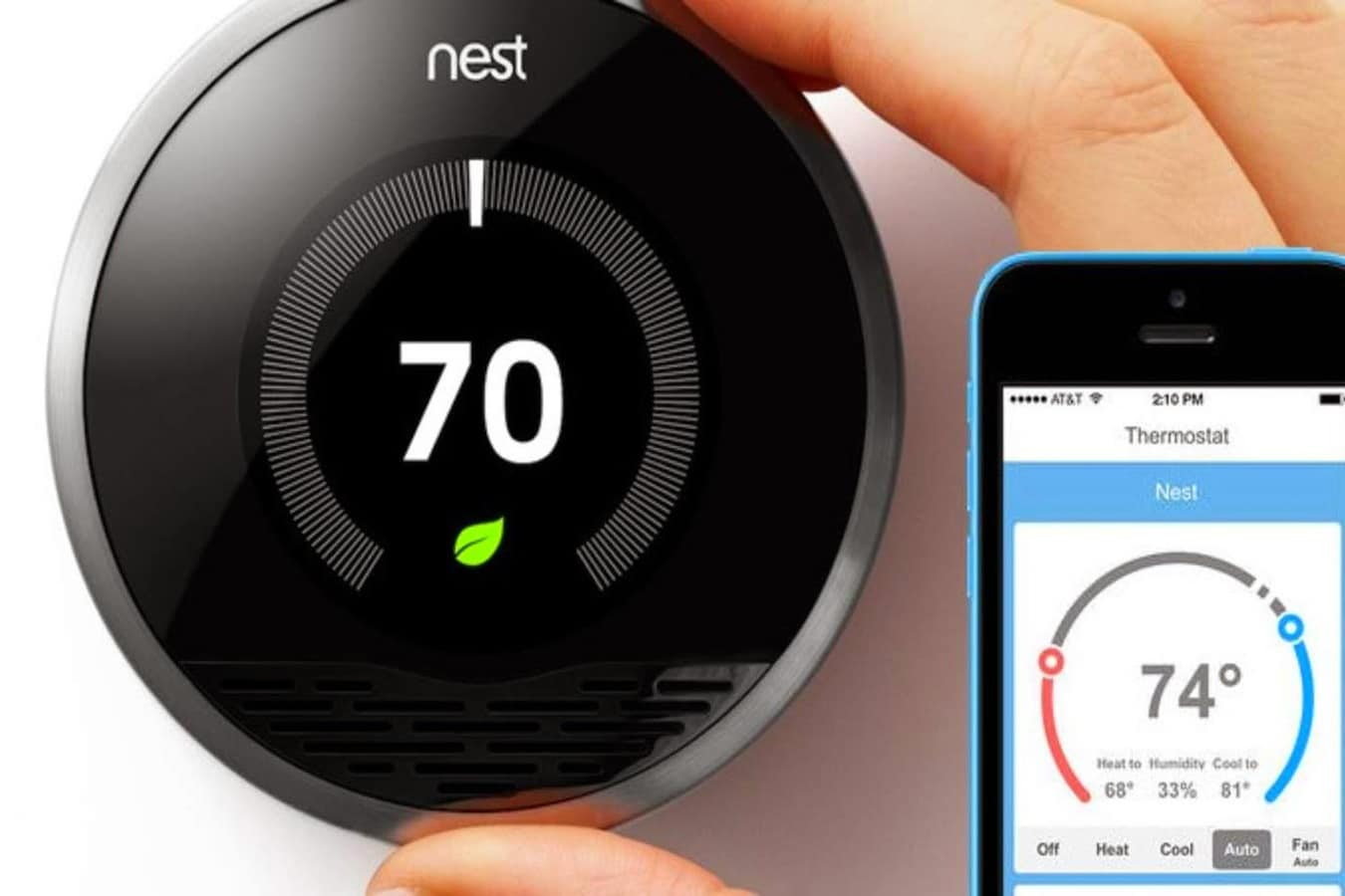 slimme thermostaat nest