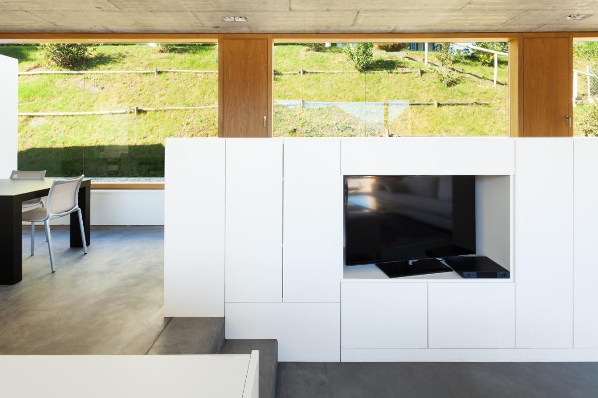 tv-meubel plaatsen